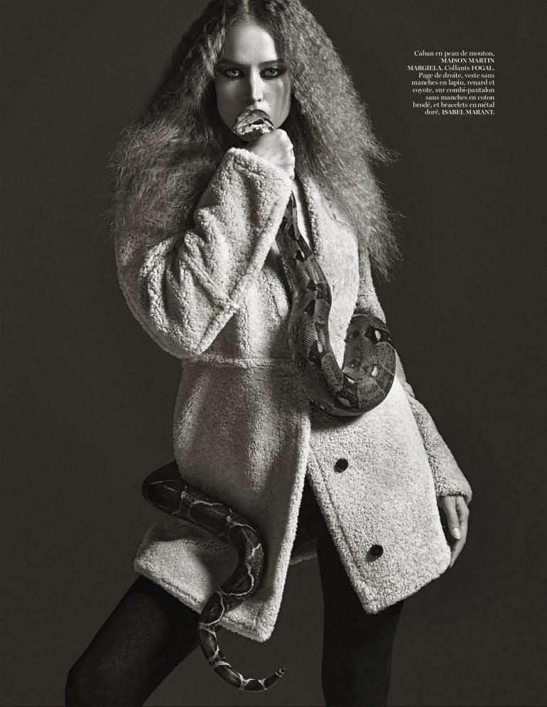 Raquel Zimmermann 'Nouvelle Eve' By Mario Sorrenti For Vogue Paris 10