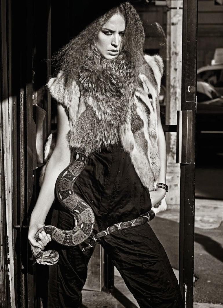 Raquel Zimmermann 'Nouvelle Eve' By Mario Sorrenti For Vogue Paris 11