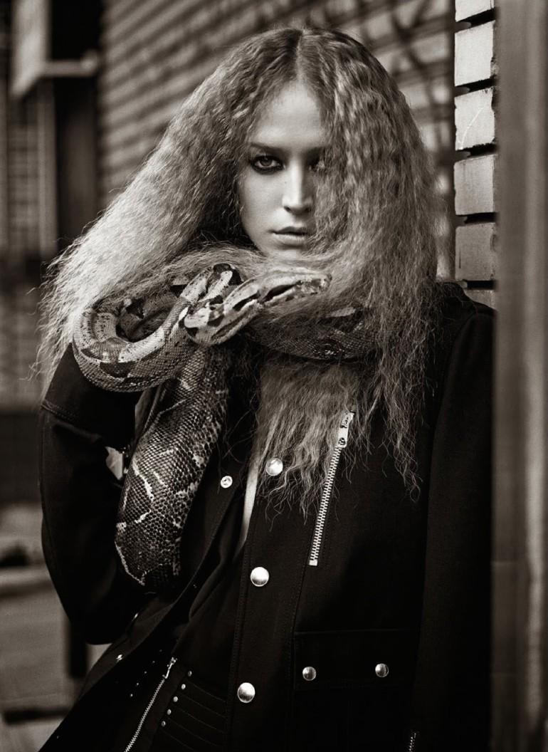 Raquel Zimmermann 'Nouvelle Eve' By Mario Sorrenti For Vogue Paris 12