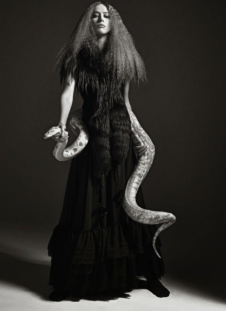 Raquel Zimmermann 'Nouvelle Eve' By Mario Sorrenti For Vogue Paris 15