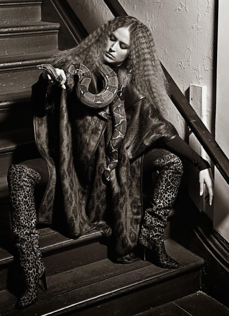 Raquel Zimmermann 'Nouvelle Eve' By Mario Sorrenti For Vogue Paris 17
