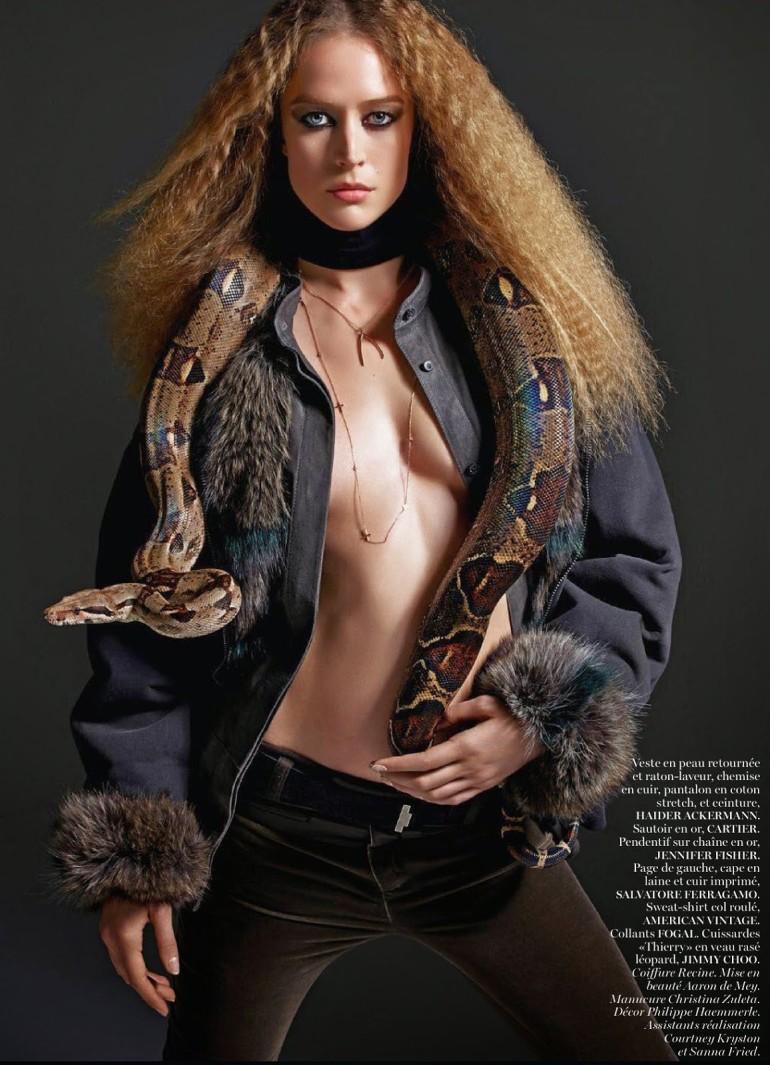 Raquel Zimmermann 'Nouvelle Eve' By Mario Sorrenti For Vogue Paris 18