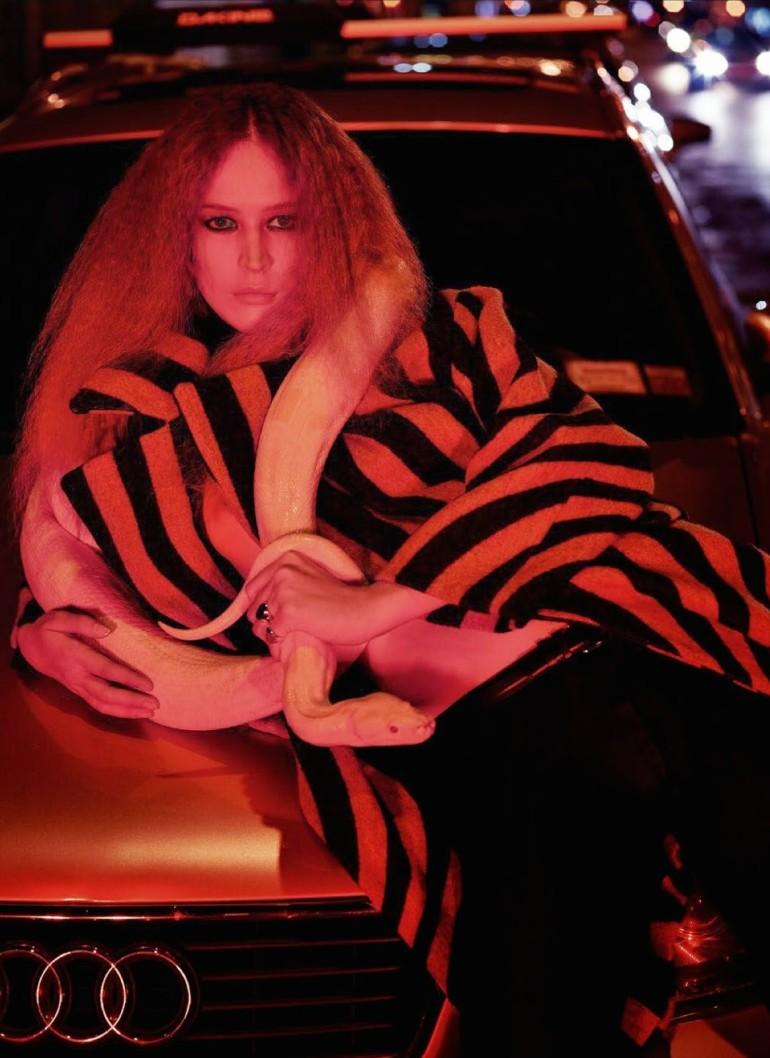 Raquel Zimmermann 'Nouvelle Eve' By Mario Sorrenti For Vogue Paris 2