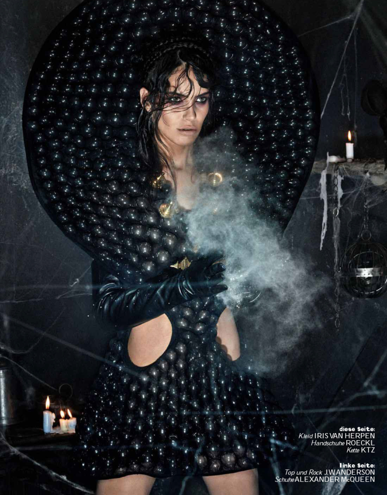 Amanda Wellsh 'Hokus Pokus' Giampaolo Sgura For Interview Germany 15