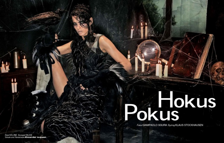 Amanda Wellsh 'Hokus Pokus' Giampaolo Sgura For Interview Germany