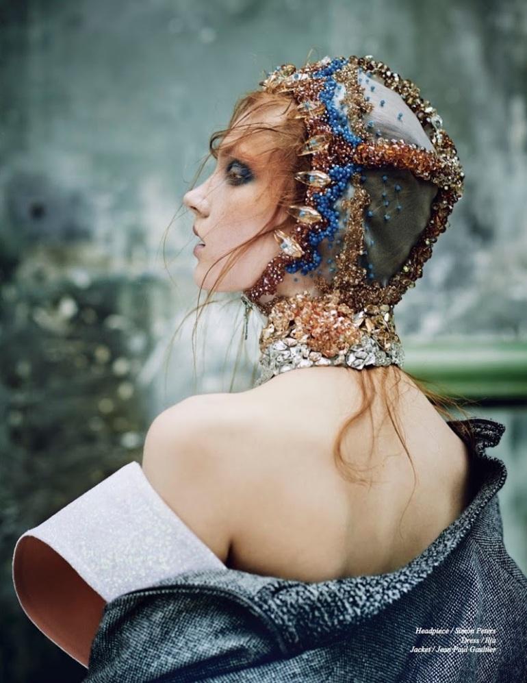 "Anastasia Ivanova in ""Transitory"" by Nicolas Guerin for Schön! Magazine #26 10"