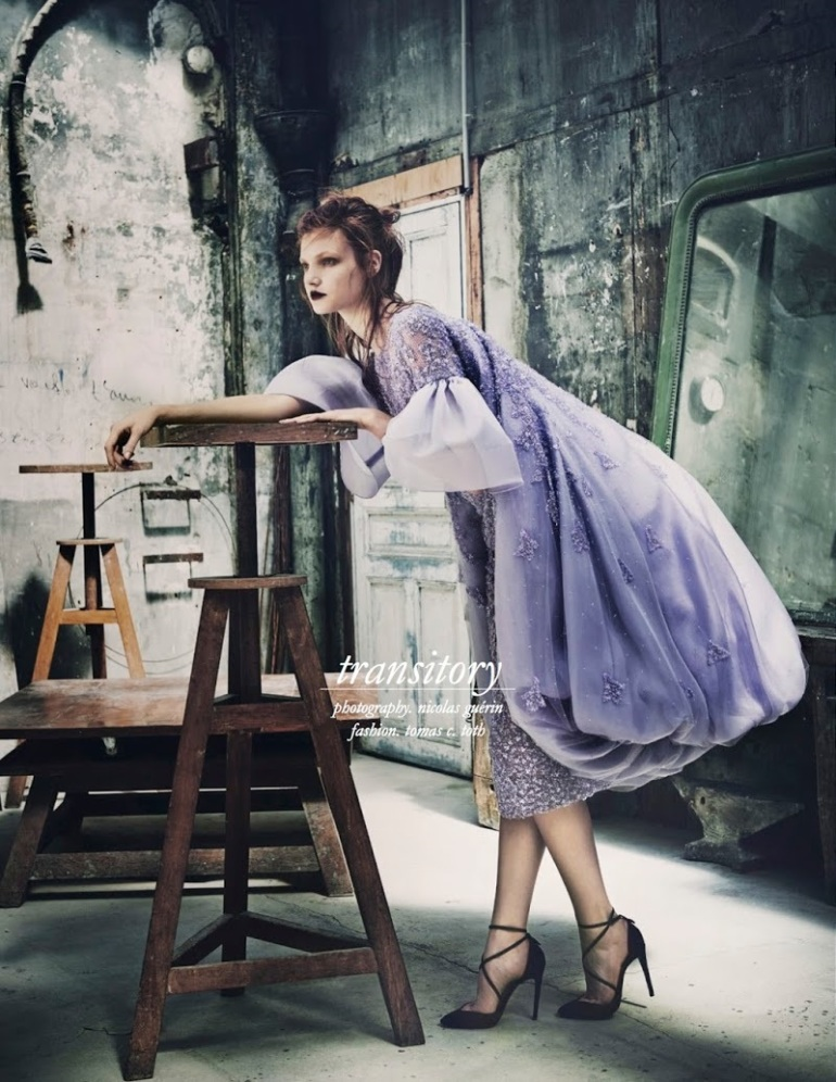 "Anastasia Ivanova in ""Transitory"" by Nicolas Guerin for Schön! Magazine #26 6"