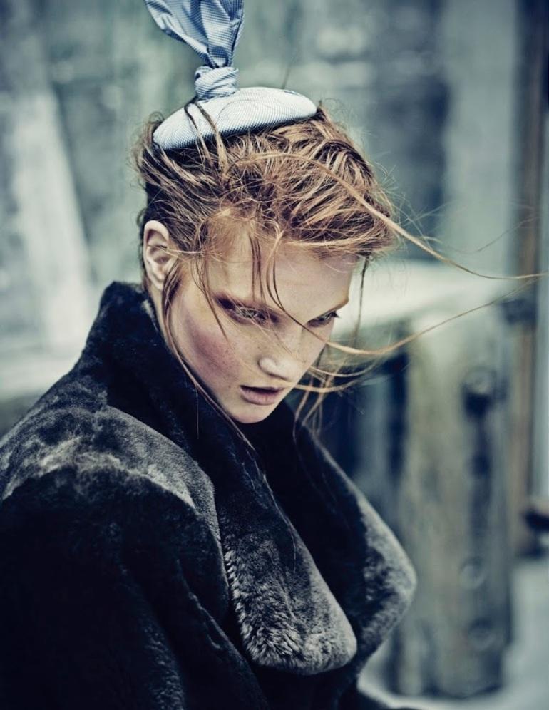 "Anastasia Ivanova in ""Transitory"" by Nicolas Guerin for Schön! Magazine #26 7"