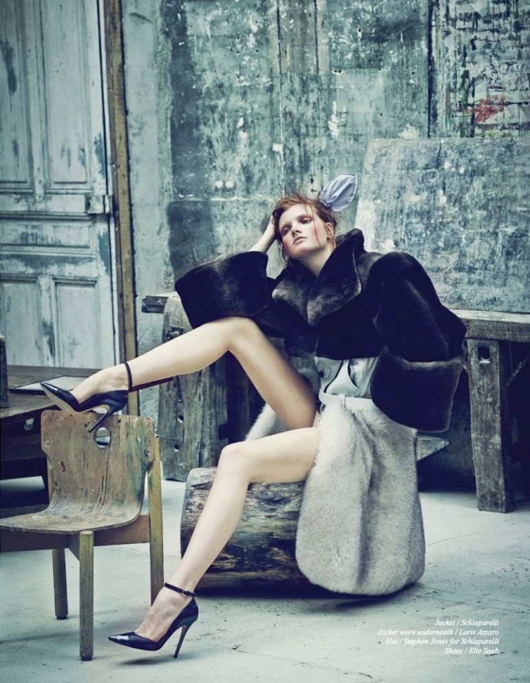 "Anastasia Ivanova in ""Transitory"" by Nicolas Guerin for Schön! Magazine #26 8"