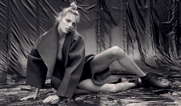 Anja Rubik 'The Last Dance' By Matthew Brookes For L'express Styles 12