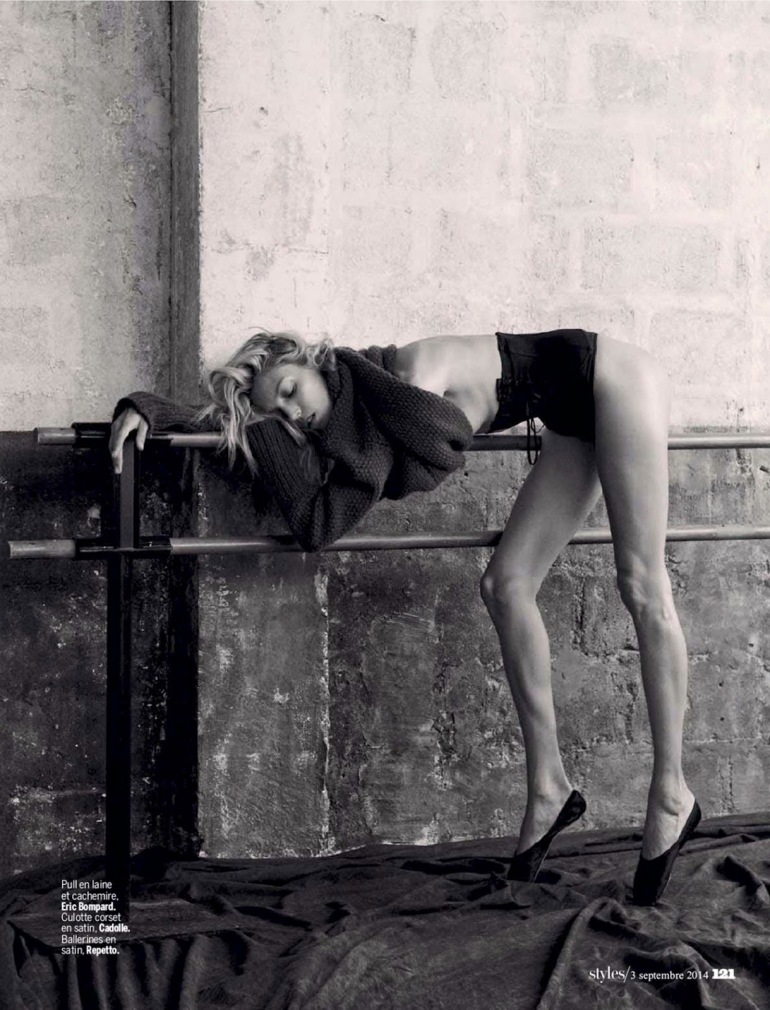 Anja Rubik 'The Last Dance' By Matthew Brookes For L'express Styles 16