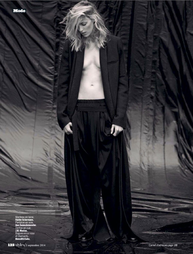 Anja Rubik 'The Last Dance' By Matthew Brookes For L'express Styles 20