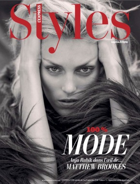 Anja Rubik 'The Last Dance' By Matthew Brookes For L'express Styles 3