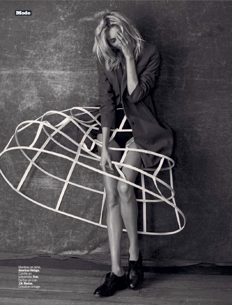 Anja Rubik 'The Last Dance' By Matthew Brookes For L'express Styles 5