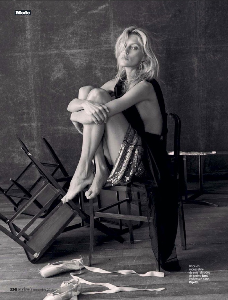 Anja Rubik 'The Last Dance' By Matthew Brookes For L'express Styles 8