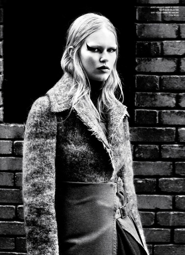 Anna Ewers 'Rebel Flower' Willy Vanderperre for V Magazine 10