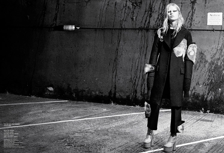 Anna Ewers 'Rebel Flower' Willy Vanderperre for V Magazine 11