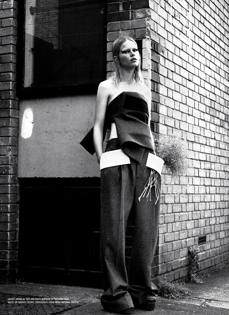 Anna Ewers 'Rebel Flower' Willy Vanderperre for V Magazine 4