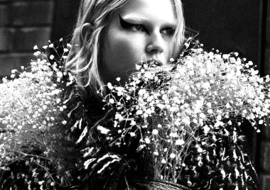 Anna Ewers 'Rebel Flower' Willy Vanderperre for V Magazine