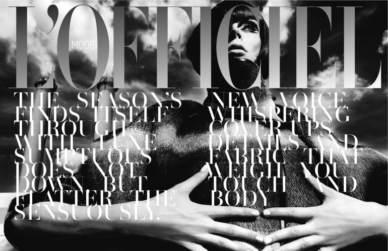 Coco Rocha By Chuando & Frey For L'officiel Singapore 2