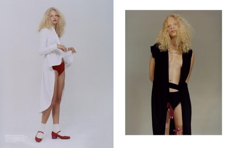 'Fashion' by Harley Weir for Pop Magazine A.W 2014 6