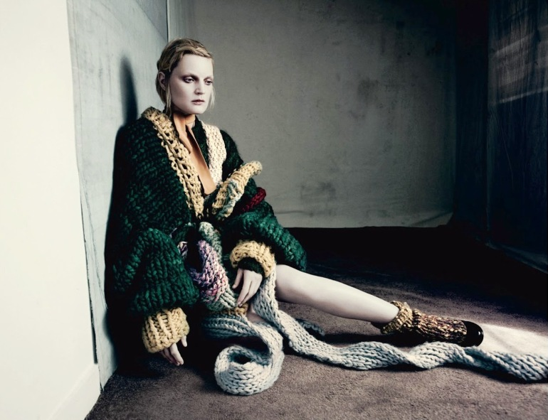 Guinevere Van Seenus in 'Pins & Needles' by Paolo Roversi for Dazed & Confused 10