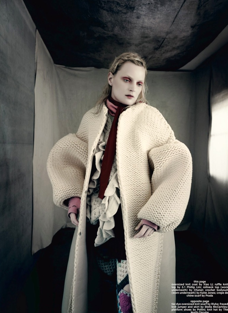 Guinevere Van Seenus in 'Pins & Needles' by Paolo Roversi for Dazed & Confused 11