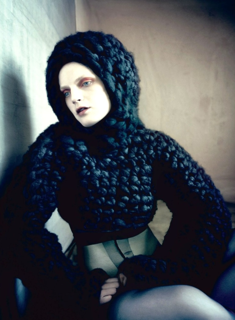 Guinevere Van Seenus in 'Pins & Needles' by Paolo Roversi for Dazed & Confused 4