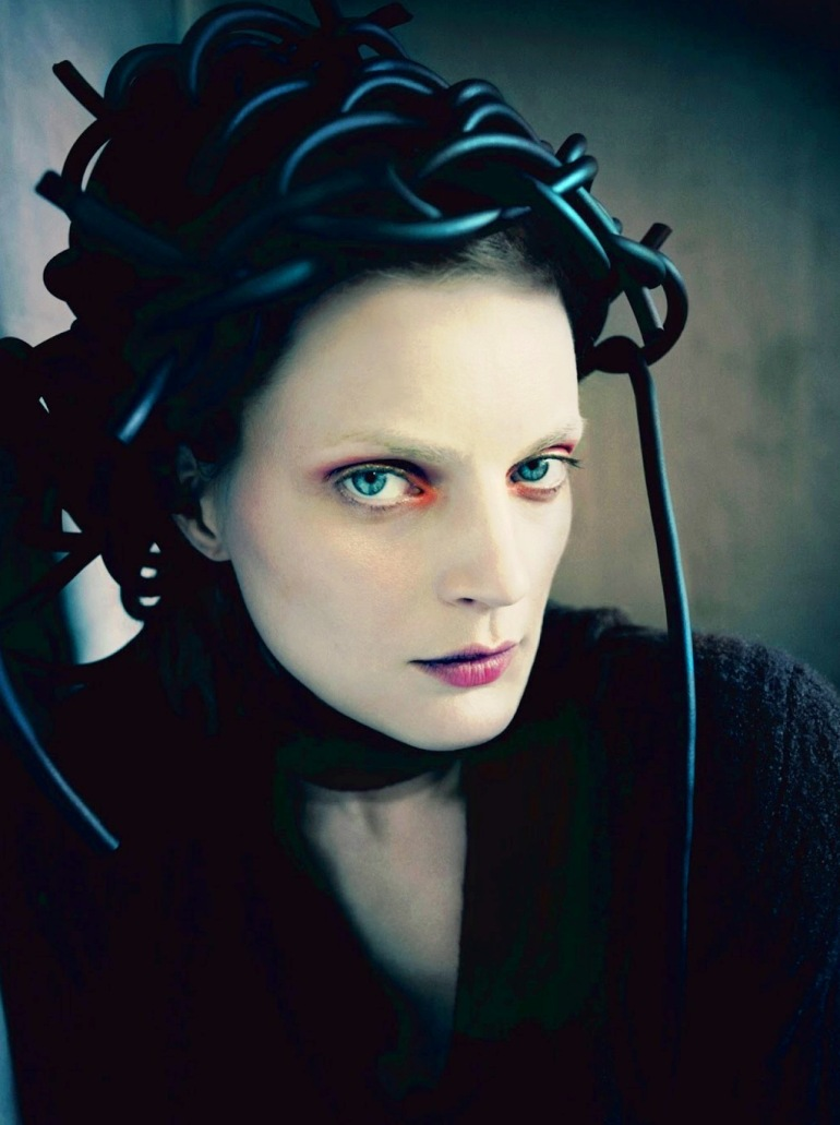 Guinevere Van Seenus in 'Pins & Needles' by Paolo Roversi for Dazed & Confused 5