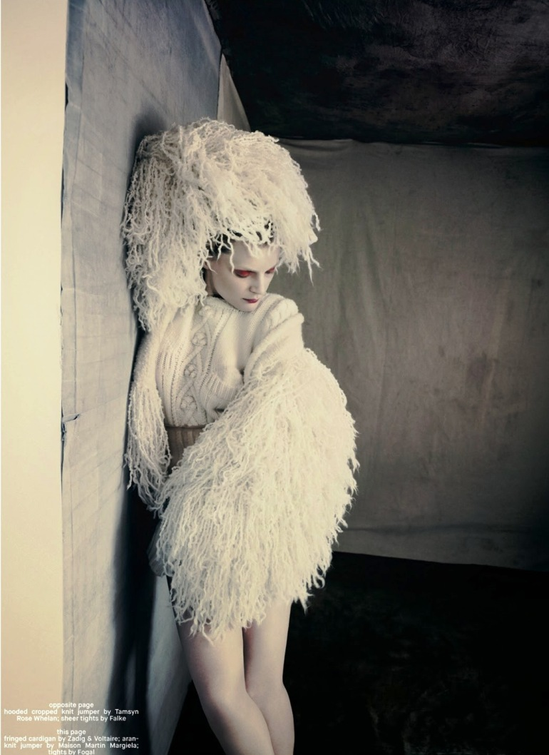 Guinevere Van Seenus in 'Pins & Needles' by Paolo Roversi for Dazed & Confused 7