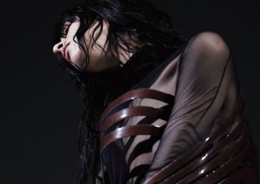 Jamie Bochert in 'Parallax' by Willy Vanderperre for Garage Magazine