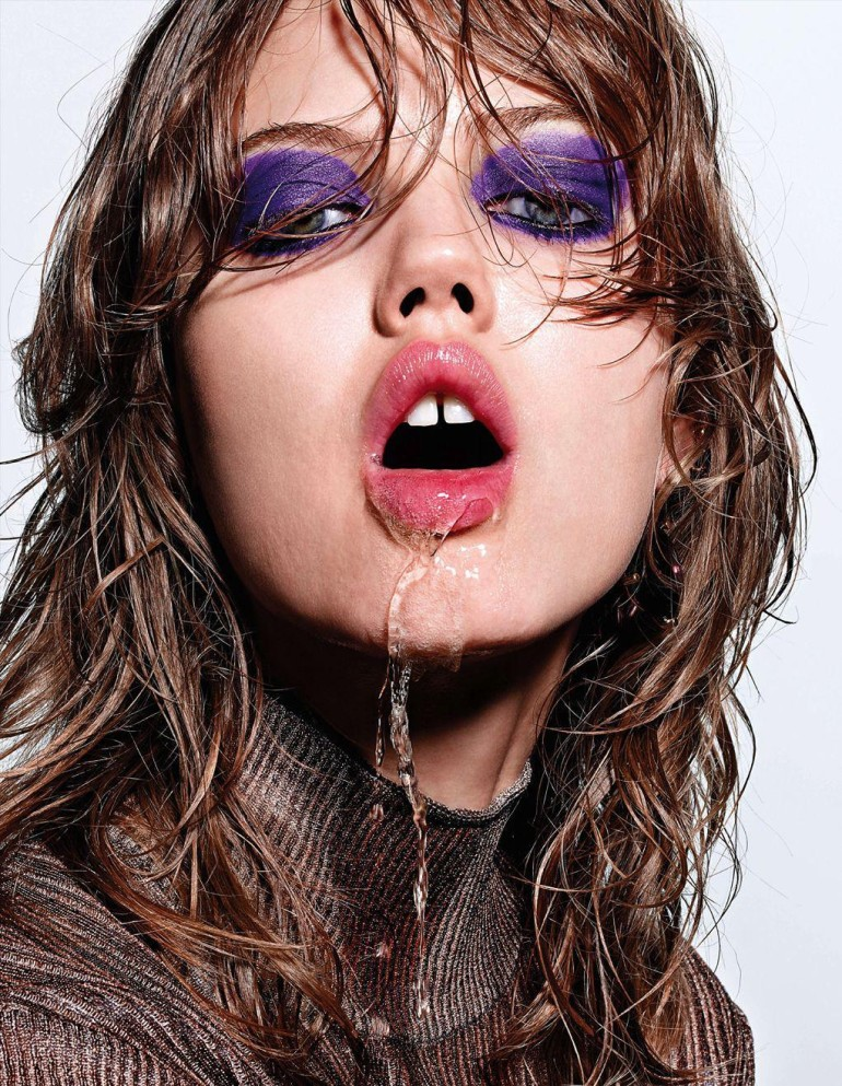Lindsey Wixson By Richard Burbridge For Interview Germany 11