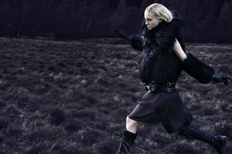 Nastya Sten & Sophie Touchet By Phil Poynter For Vogue Germany 1