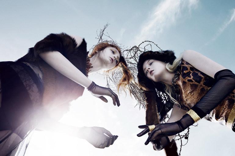 Nastya Sten & Sophie Touchet By Phil Poynter For Vogue Germany 14