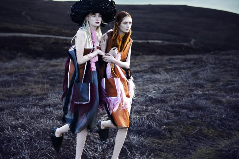 Nastya Sten & Sophie Touchet By Phil Poynter For Vogue Germany 15