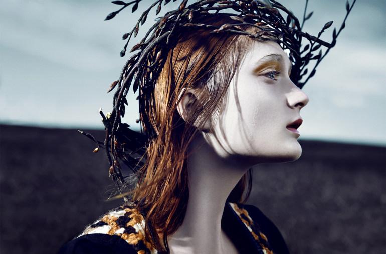 Nastya Sten & Sophie Touchet By Phil Poynter For Vogue Germany 18