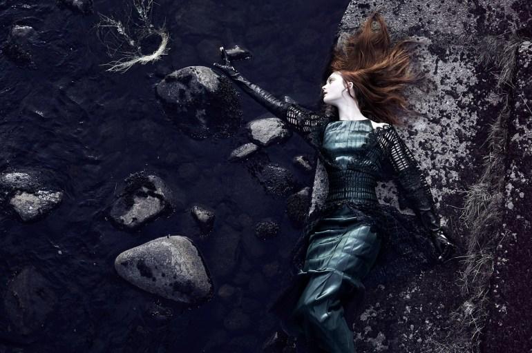 Nastya Sten & Sophie Touchet By Phil Poynter For Vogue Germany 2