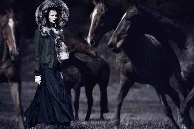 Nastya Sten & Sophie Touchet By Phil Poynter For Vogue Germany 20