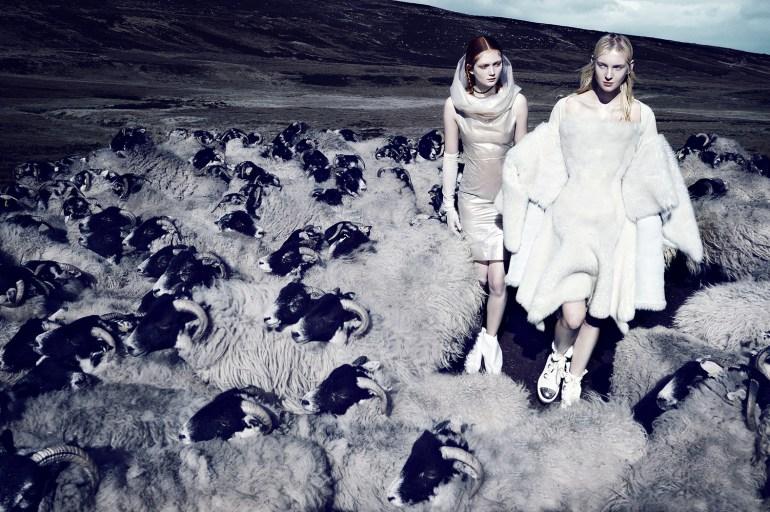 Nastya Sten & Sophie Touchet By Phil Poynter For Vogue Germany 8