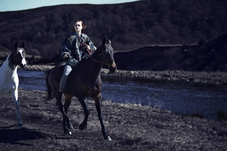 Nastya Sten & Sophie Touchet By Phil Poynter For Vogue Germany 9