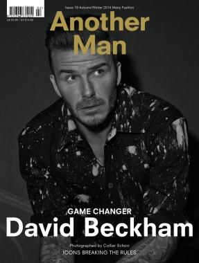 david beckham for another mag