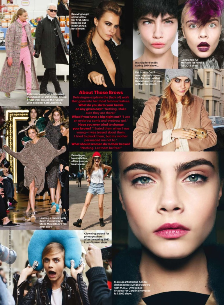 Cara Delevingne 'Best of Beauty' By Mario Testino For Allure 19