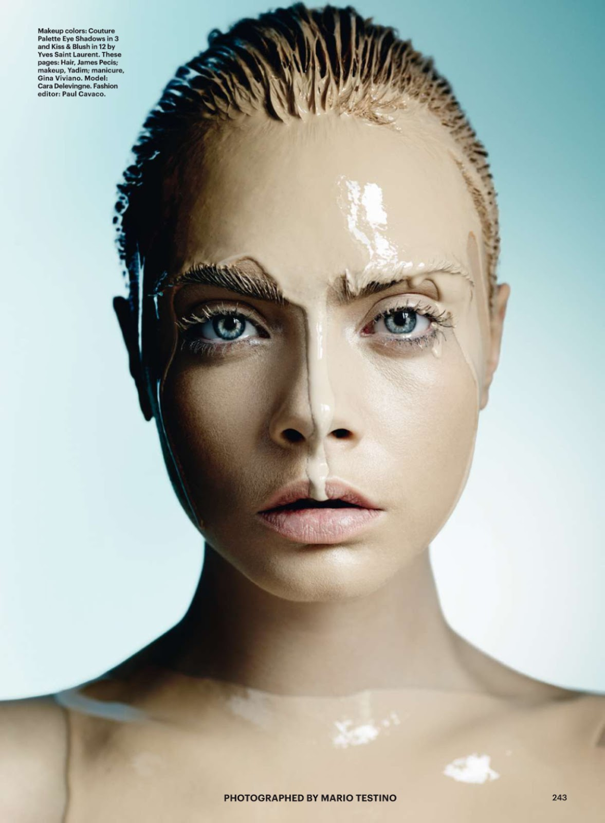 Cara Delevingne In 'Best Of Beauty' By Mario Testino For