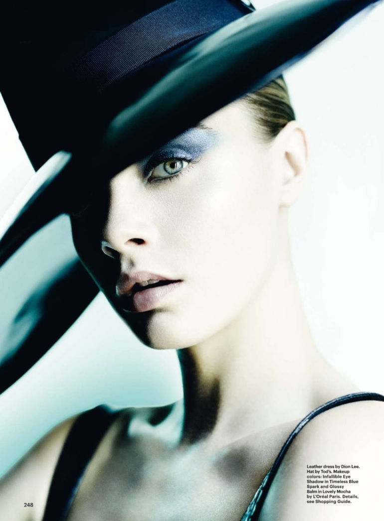 Cara Delevingne By Mario Testino For Allure October 20142