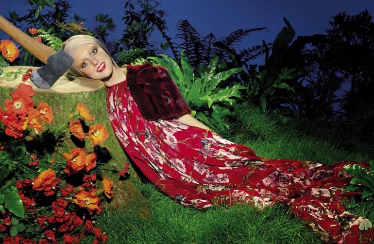 Frances Coombe by Miles Aldridge for Vogue Italia 8