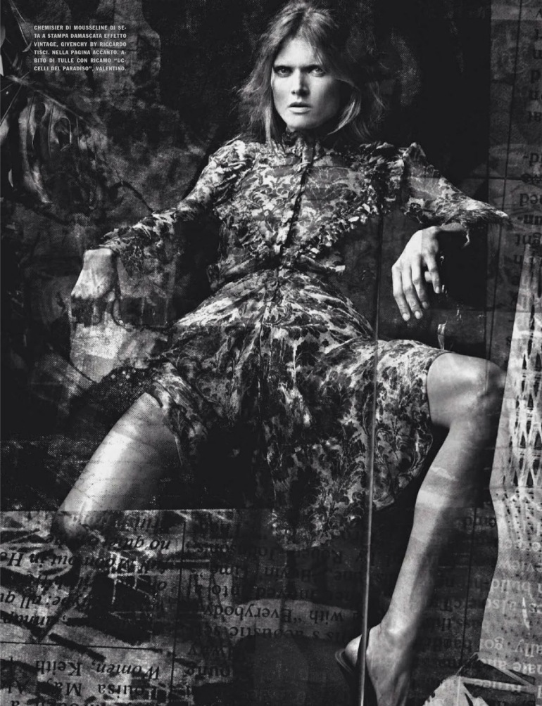 Malgosia Bela 'The Story of M' By Craig Mcdean For Vogue Italia 15