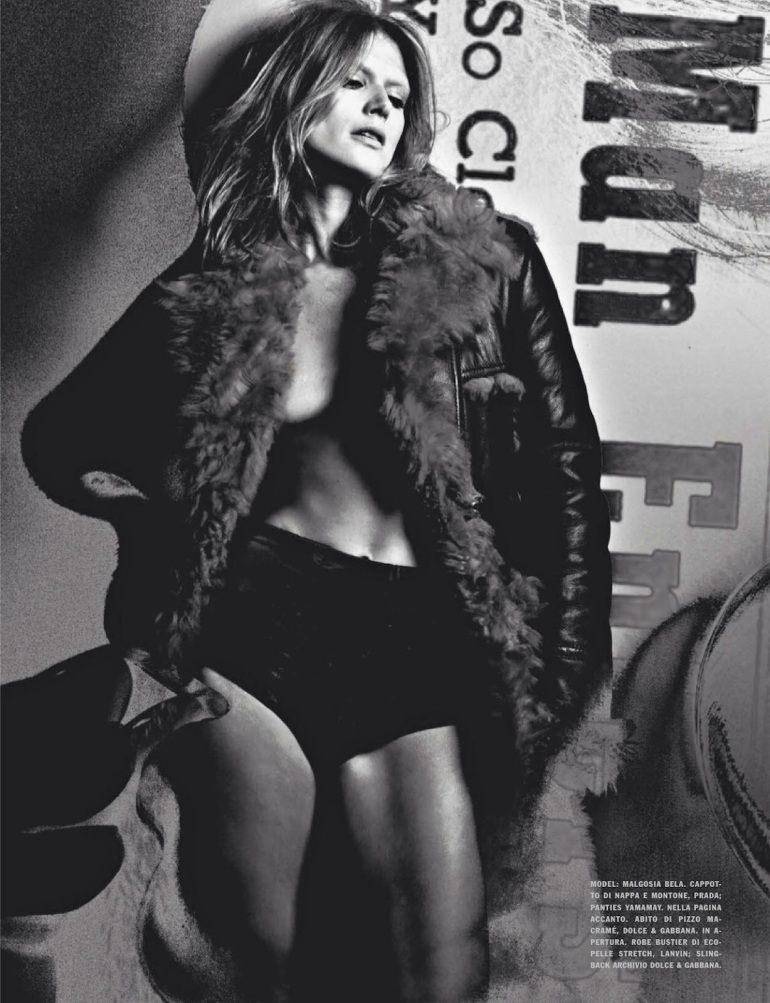 Malgosia Bela 'The Story of M' By Craig Mcdean For Vogue Italia 3