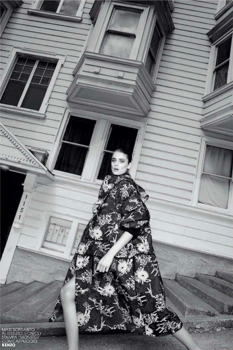 Taylor Marie Hill in 'Oversize' By Nagi Sakai For Marie Claire Italia 1