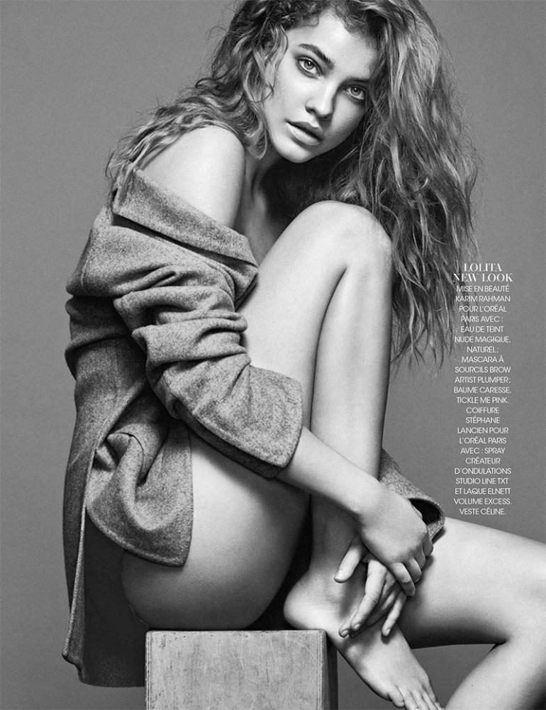 Barbara Palvin By Nico For Madame Figaro 31st October 2014 3