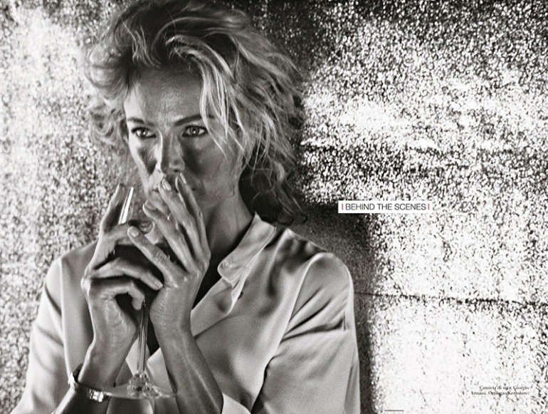 Carolyn Murphy 'A Connection' by Steven Meisel for Vogue Italia 6